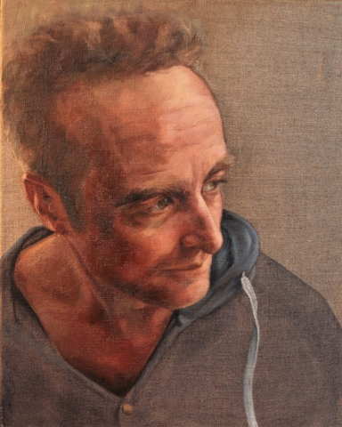 Dan - oil on linen
