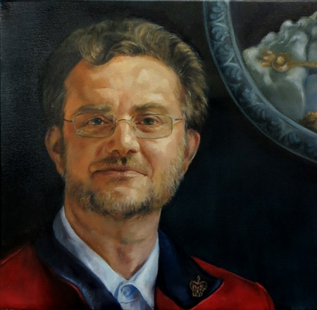 Ian - commissioned portrait in oil
