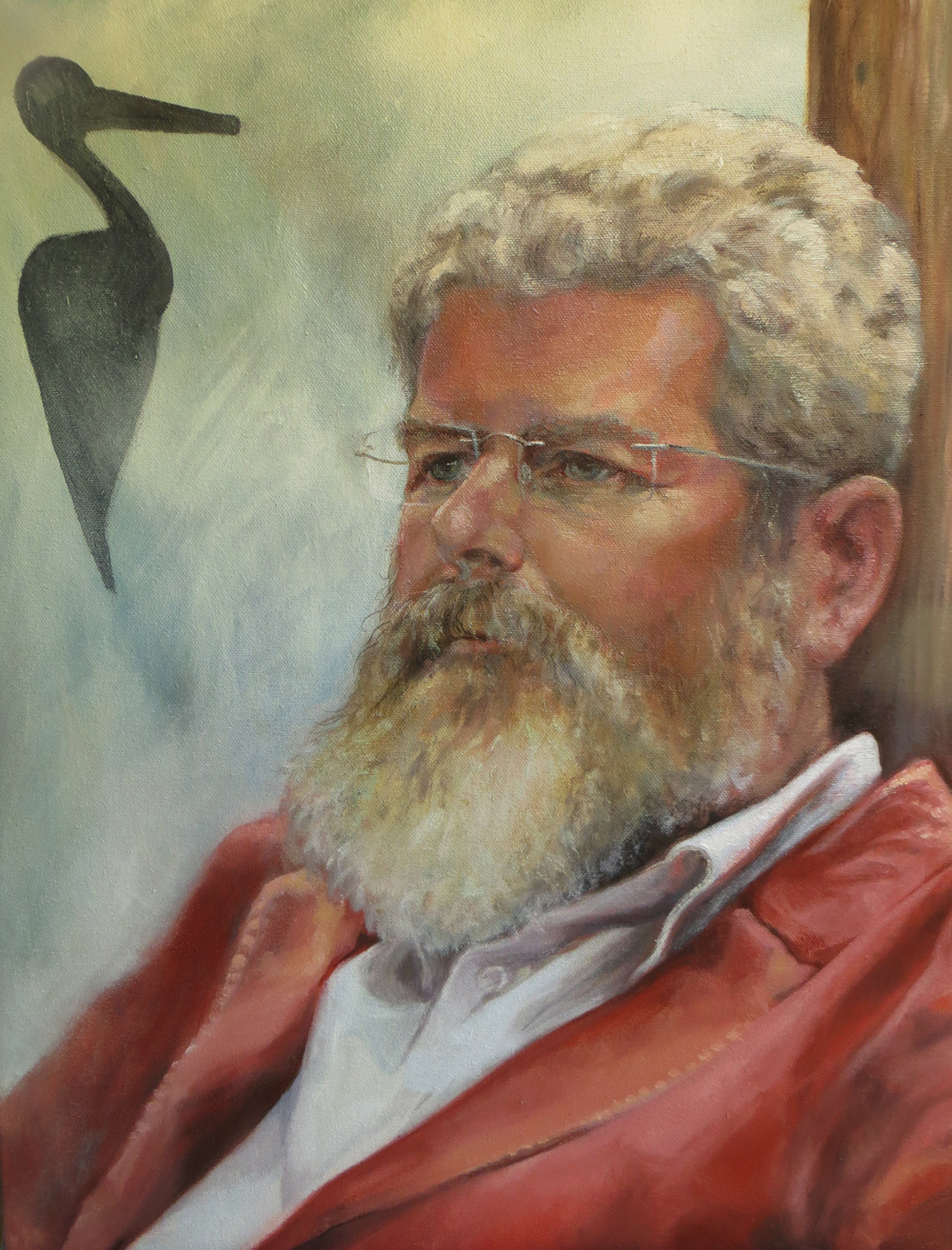 Tim - commissioned portrait in Oil